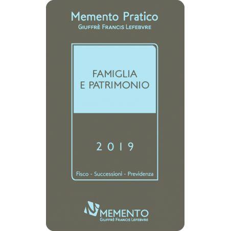 MEMENTO FAMIGLIA E PATRIMONIO