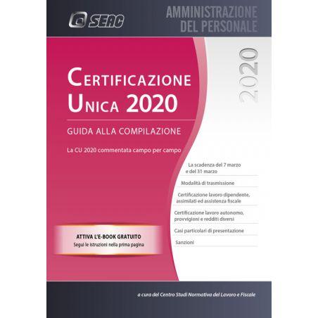 CERTIFICAZIONE UNICA 2020 - Guida alla Compilazione