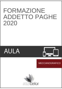 Formazione Addetto Paghe Base - CORSO MECCANOGRAFICO 2020