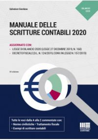 Manuale delle Scritture Contabili 2020 - XV edizione