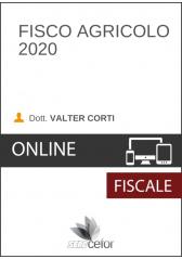 Fisco Agricolo 2020