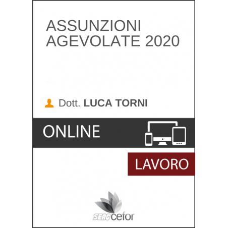 Assunzioni Agevolate 2020