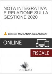Nota Integrativa e Relazione sulla Gestione 2020