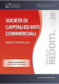 MODELLO REDDITI 2020 SOCIETÀ DI CAPITALI ED ENTI COMMERCIALI