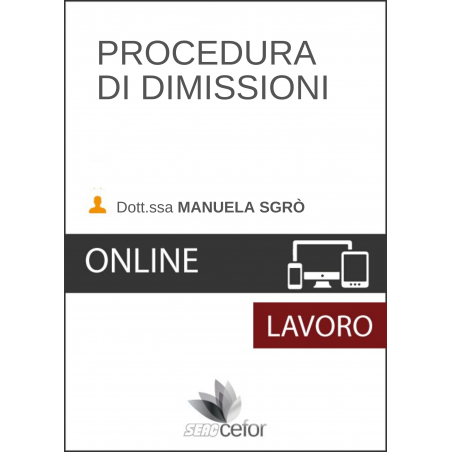 Procedure di dimissioni