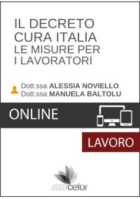 """Il Decreto """"Cura Italia"""" - Le misure per i lavoratori - DIRETTA"""