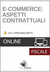 E-commerce: Aspetti contrattuali