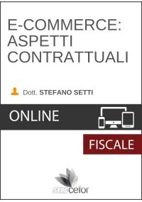 E-commerce: Aspetti contrattuali - DIRETTA