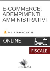 E-commerce: Adempimenti amministrativi - DIRETTA