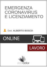 Emergenza Coronavirus e Licenziamento