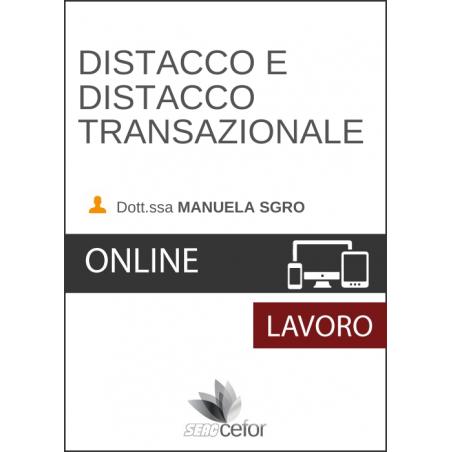 Distacco e distacco transazionale