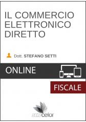 Il Commercio elettronico diretto - DIFFERITA