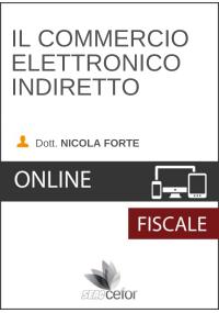 Il Commercio elettronico indiretto