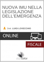 Nuova IMU nella Legislazione dell'Emergenza