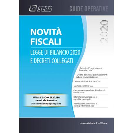 NOVITÀ FISCALI: legge di bilancio 2020 e decreti collegati - omaggio