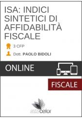 ISA: Indici Sintetici di Affidabilità fiscale