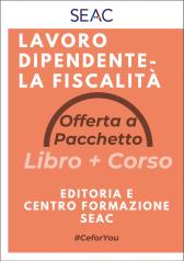 LAVORO DIPENDENTE - LA FISCALITÀ - Libro + Corso