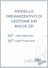 Modello Organizzativo Di Gestione Dei Rischi 231