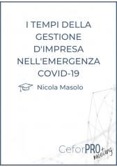 I Tempi Della Gestione D'impresa Nell'emergenza Covid-19
