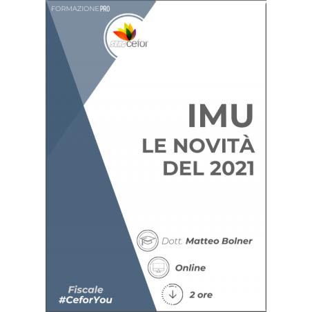 IMU - le novità del 2021 PACK