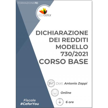 Dichiarazione dei Redditi Modello 730/2021 - Corso Base - PACK