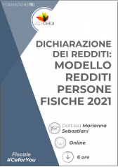 Dichiarazione Dei Redditi - Modello Redditi Persone Fisiche 2021 - Pack