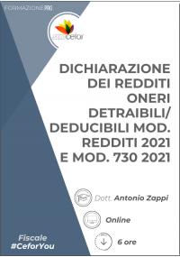 Dichiarazione dei Redditi Oneri Detraibili/Deducibili (Mod. REDDITI e Mod. 730) - PACK