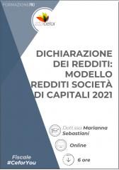 Modello Redditi: Società Capitali - libro + corso