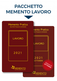 MEMENTO PRATICO LAVORO 2021 - Edizioni di Marzo + Settembre