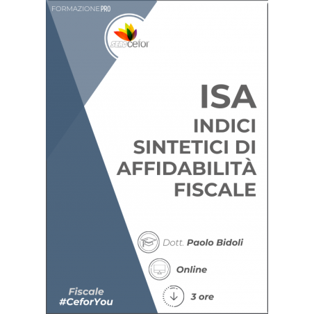 ISA: Indici Sintetici di Affidabilità fiscale - PACK