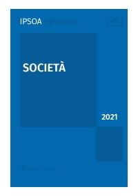 SOCIETÀ 2021