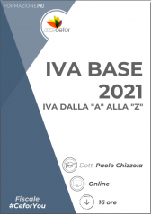 """Iva Base 2021: Iva Dalla """"A"""" Alla """"Z"""""""