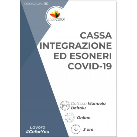 Cassa integrazione ed esoneri COVID-19