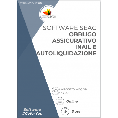 Software SEAC - Obbligo assicurativo INAIL e Autoliquidazione