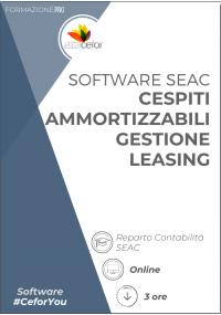 Software SEAC - Cespiti Ammortizzabili / Gestione Leasing 2021