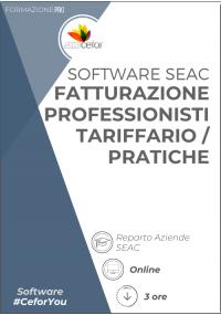 Software SEAC - Fatturazione Professionisti - Tariffario/Pratiche 2021