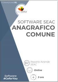 Software SEAC - Anagrafico Comune 2020