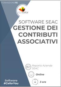 Software SEAC - Gestione dei Contributi Associativi 2021