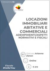 Locazioni Immobiliari Abitative E Commerciali - Adempimenti/Aspetti Normativi E Fiscali 2021