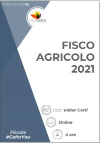 Fisco Agricolo 2021