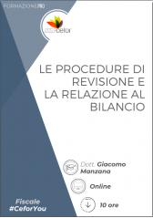 Procedure di revisione e relazione al bilancio