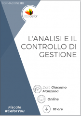 Analisi e controllo di gestione