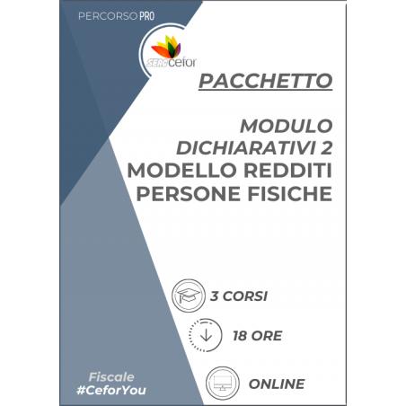 Pacchetto Corsi - Modello Redditi Persone Fisiche