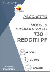 Modulo Dichiarativi 1+2 - Modello 730 + Modello Redditi Persone Fisiche