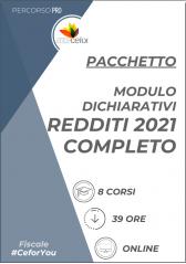 Modulo Dichiarativi: Pacchetto Redditi 2021 completo