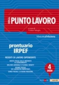 IL PUNTO LAVORO 4/2021 - PRONTUARIO IRPEF