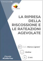 La Ripresa Della Riscossione E Le Rateazioni Agevolate
