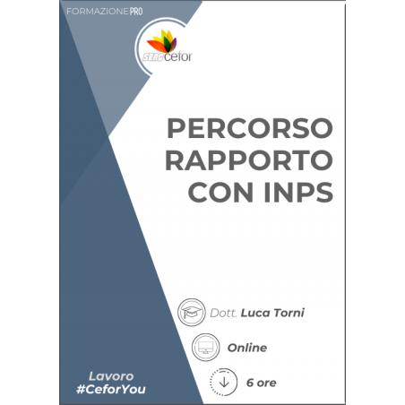Percorso rapporto con INPS: apertura di posizione e inquadramento azienda - pack