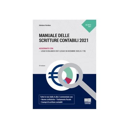 MANUALE DELLE SCRITTURE CONTABILI 2021