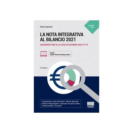 LA NOTA INTEGRATIVA AL BILANCIO 2021